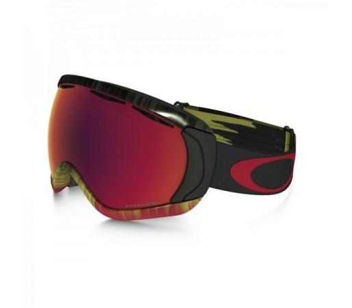 Ochelari Schi si Snowboard Oakley Canopy Negri/Multicolor/Rosii+Rosu