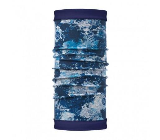 Neck Tube Buff Polar Reversibil Winter Garden Blue / Navy