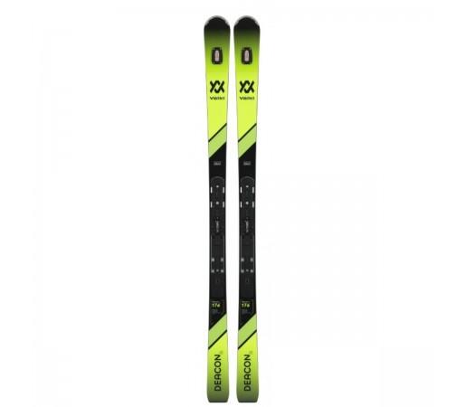 Skiuri fara legaturi Volkl Deacon 76 PRO + placa si UVO 2019 Negru / Verde