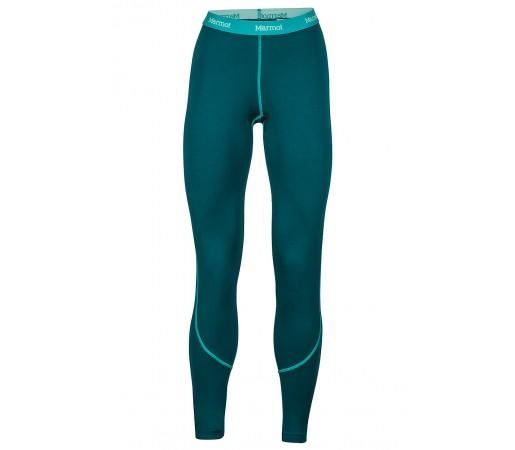 Pantaloni first-layer Marmot W ThermalClime Pro Verzi