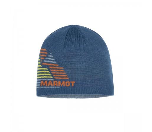 Caciula Barbati Marmot Novelty Reversible Beanie Moroccan Blue