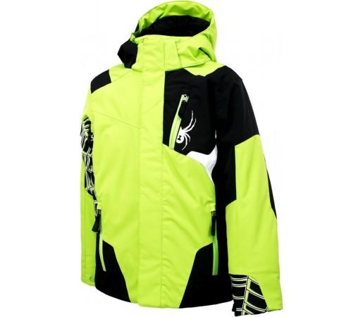 Geaca Schi si snowboard Spyder Challenger Lime/Black