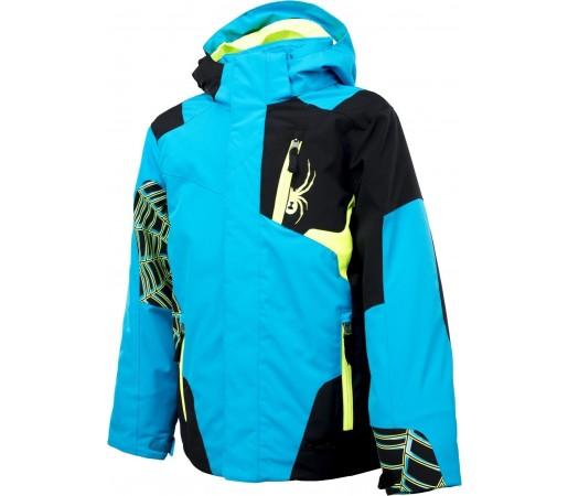 Geaca Schi si Snowboard Spyder Challenger Albastru/Negru