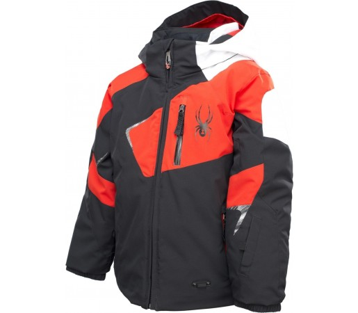 Geaca Schi si snowboard Spyder Mini Leader Black/Red