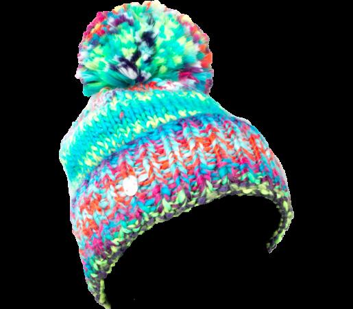 Caciula Spyder Twisty Alb/Multicolor