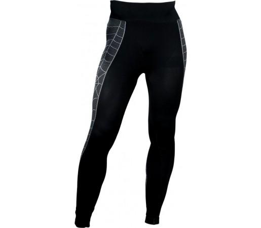 Pantaloni First-Layer Spyder Skeleton Black/White