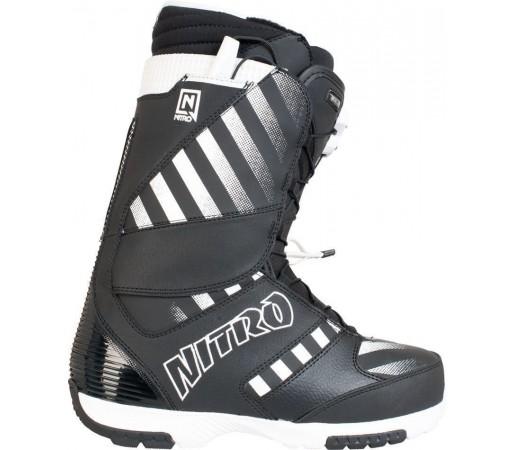 Boots Snowboard Nitro Blaze TLS Negru/Alb 2014