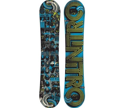 Placa Snowboard Nitro Cinema Wide 2014