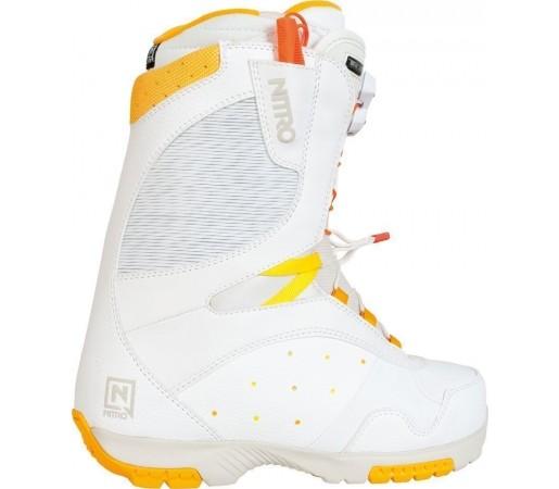 Boots Snowboard Nitro Crown TLS Alb 2014