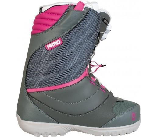 Boots Snowboard Nitro Cuda TLS Gri/Roz 2014