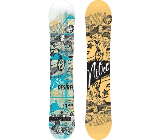 Placa Snowboard Nitro Desire 2014