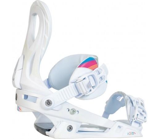 Legaturi Snowboard Nitro Eris Alb 2014