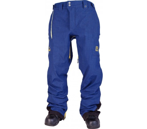 Pantaloni Snowboard si Ski Nitro M Interference Albastru