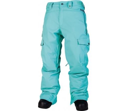 Pantaloni Snowboard si Ski Nitro M Landing Aqua
