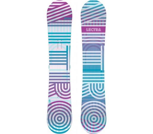 Placa Snowboard Nitro Lectra Fade 2014
