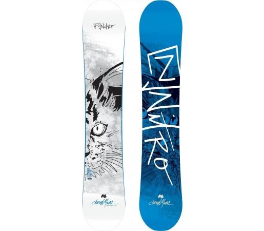 Placa Snowboard Nitro Cheryl Mass Pro 2014