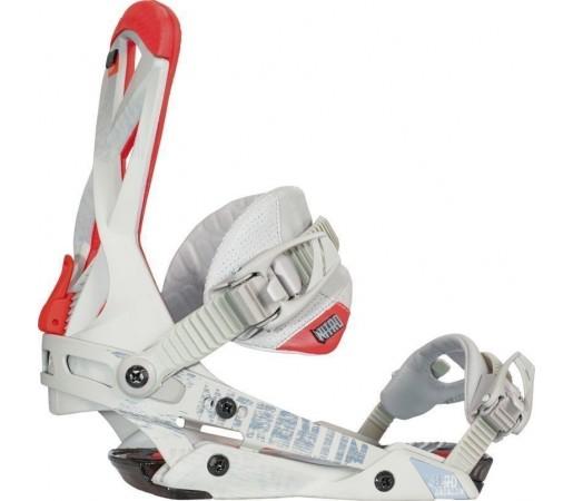 Legaturi Snowboard Nitro Phantom Alb 2014