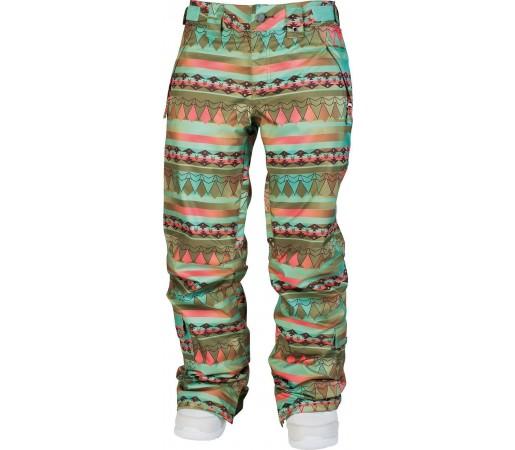 Pantaloni Snowboard si Ski Nitro W So Quiet Stripes