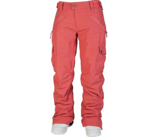 Pantaloni Snowboard si Ski Nitro W Static Rosu