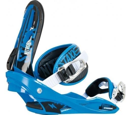 Legaturi Snowboard Nitro Staxx Albastru 2014