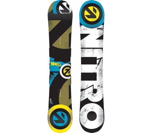 Placa Snowboard Nitro Sub Zero 2014