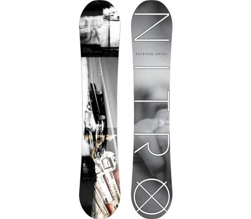 Placa Snowboard Nitro Team Gullwing Oriol 2014