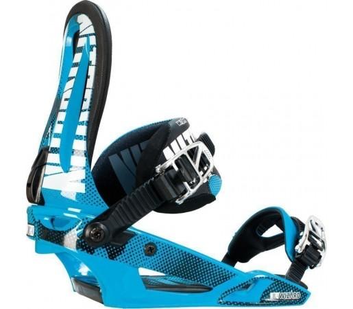 Legaturi Snowboard Nitro Wizard Albastru 2014