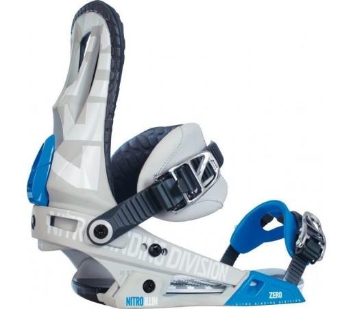 Legaturi Snowboard Nitro Zero Gri 2014