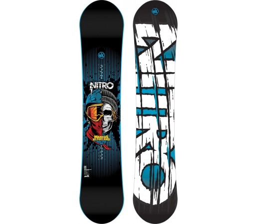 Placa Snowboard Nitro Marcus Kleveland Pro 2015