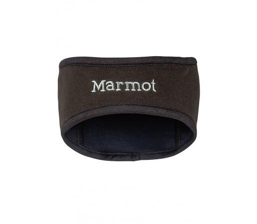 Banda Cap Marmot M Windstopper Neagra