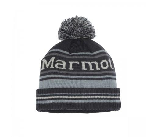 Caciula Barbati Marmot Retro Pom Hat Dark Steel/Grey Storm