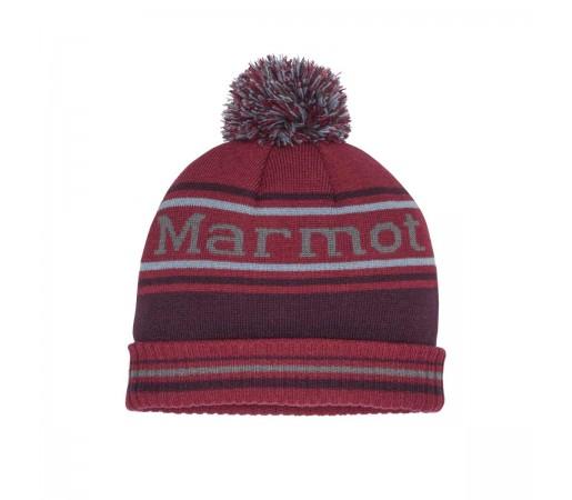 Caciula Barbati Marmot Retro Pom Hat Brick/Fig