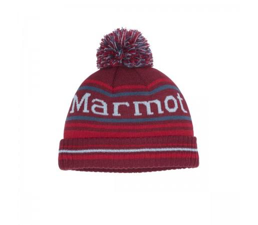 Caciula Copii Marmot Boy's Retro Pom Hat Brick/Team Red
