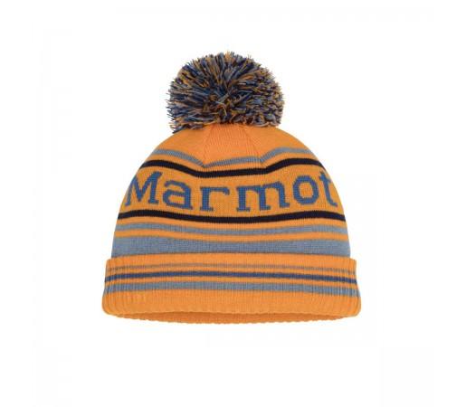 Caciula Copii Marmot Boy's Retro Pom Hat Ember/Blue Granite