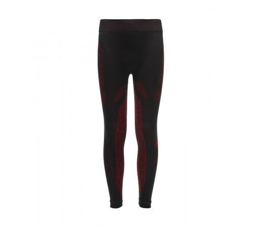 Pantaloni First Layer Baieti Spyder Caden Negru / Rosu