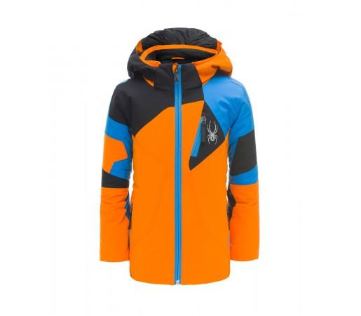 Geaca Baieti Ski Spyder Mini Leader Portocaliu