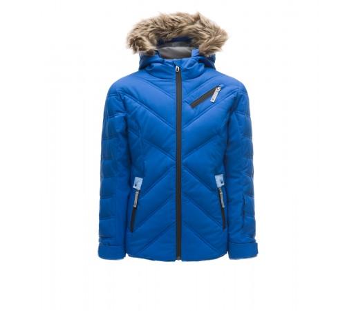 Geaca Fete Ski Spyder Hottie Albastru
