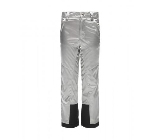 Pantaloni Fete Ski Spyder Vixen Argintiu