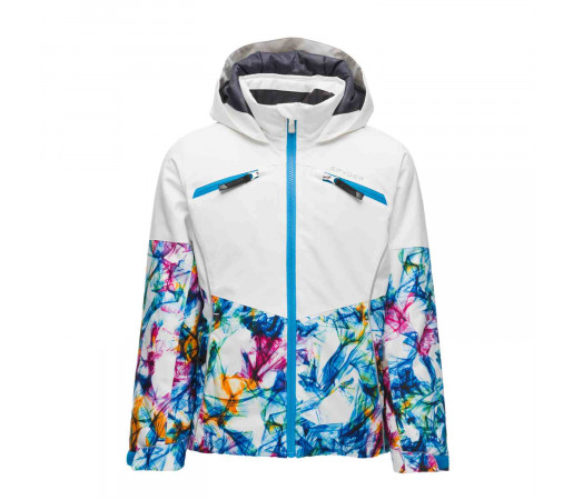 Geaca Ski Fete Spyder Conquer Eureka Print (Multicolor)