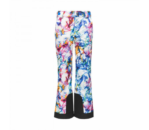 Pantaloni Ski Fete Spyder Olympia Eureka Print (Multicolor)