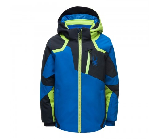 Geaca Ski Baieti Spyder Mini Leader Old Glory (Albastru)