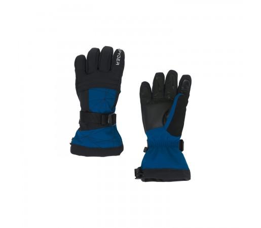 Manusi Ski Baieti Spyder Overweb Old Glory (Albastru)