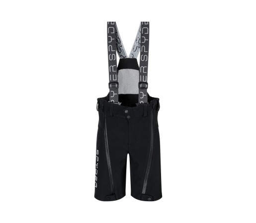 Pantaloni Ski Baieti Spyder Training Black (Negru)