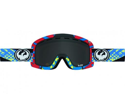 Ochelari schi si snowboard Dragon D1 Future / Dark Smoke + Ionized