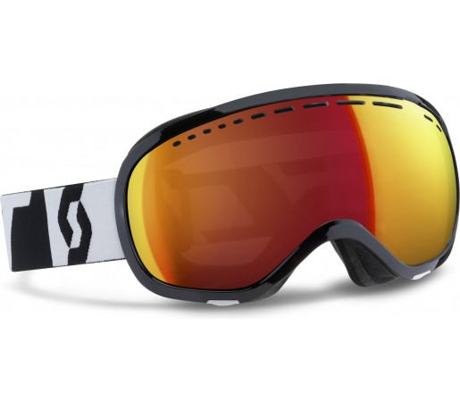 Ochelari schi si snowboard Scott Off-Grid Negru/Alb
