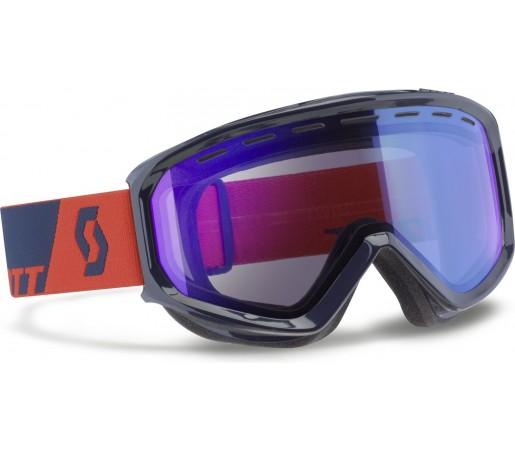 Ochelari schi si snowboard Scott Level Albastru/Rosu
