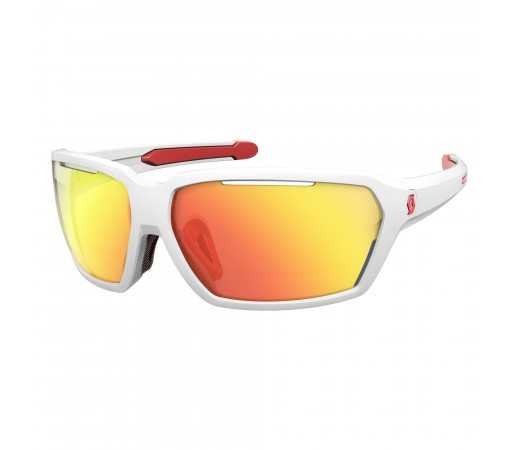 Ochelari de soare Scott Vector White / Red / Red Chrome Enhancer