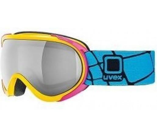 Ochelari Schi si Snowboard Uvex GGL 7 Pure Albastru/Galben
