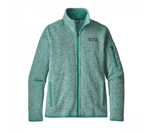 Polar Femei Hiking Patagonia Better Sweater Verde Deschis