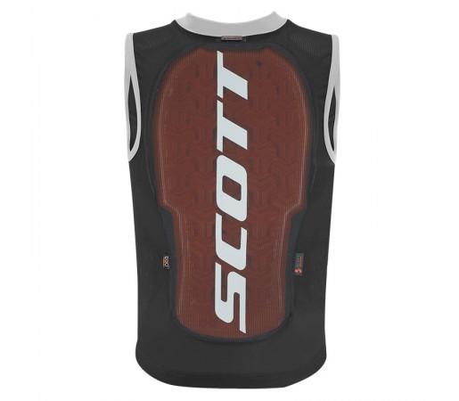 Vesta Protectie Ski si Snowboard Juniori Scott Vest Protector Actifit Plus Negru